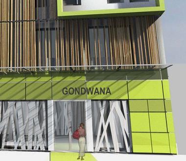 Le coût de revient de l'opération de rénovation-extension du futur hôtel Gondwana s'élève à près de 822 millions de francs.