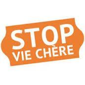 Stop vie chère